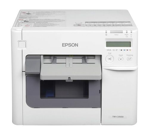 C3500 Epson ColorWorks Farb-Etikettendrucker inkl. NiceLabel CD + 3 Jahre Carry-In-Service GRATIS