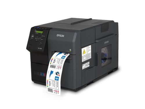 C7500 Epson ColorWorks Farb-Etikettendrucker + 3 Jahre Carry-In-Service GRATIS